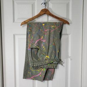 Vintage Cherokee Paint Splattered Painters Pants